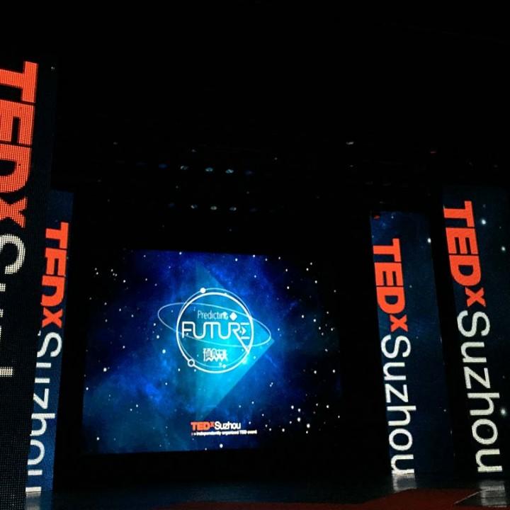 会展视觉设计 | TEDx预见未来