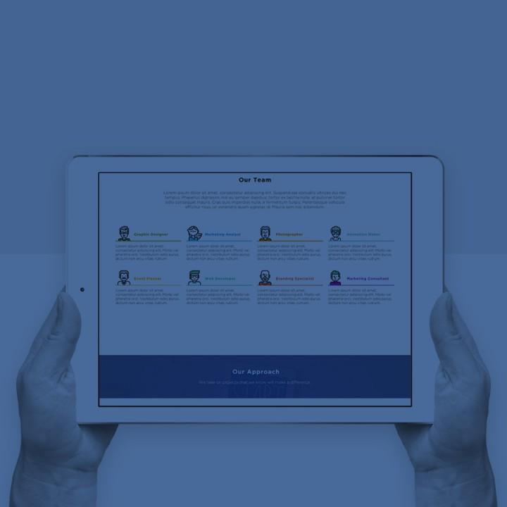 网页设计 | LCG Brand